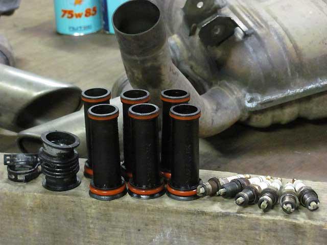 ポルシェ911996オイル漏れ