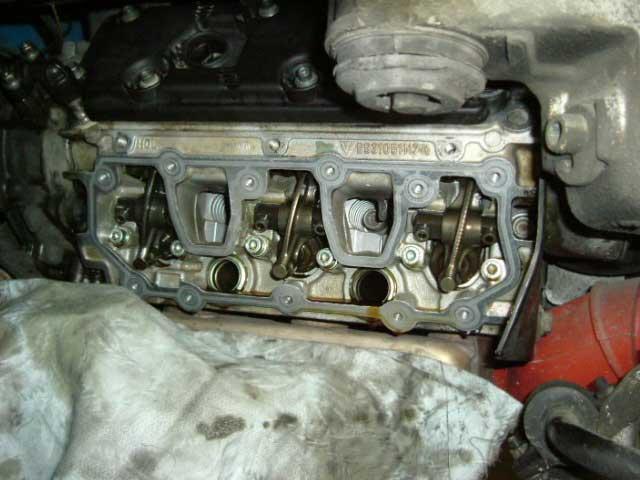 ポルシェ911993オイル漏れ修理