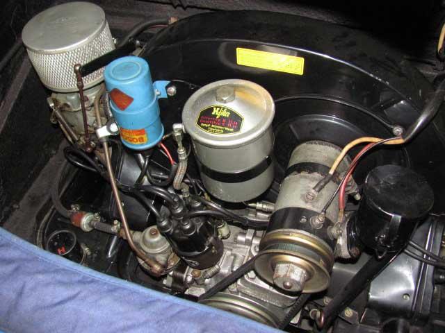 ポルシェエンジン調整キャブレター