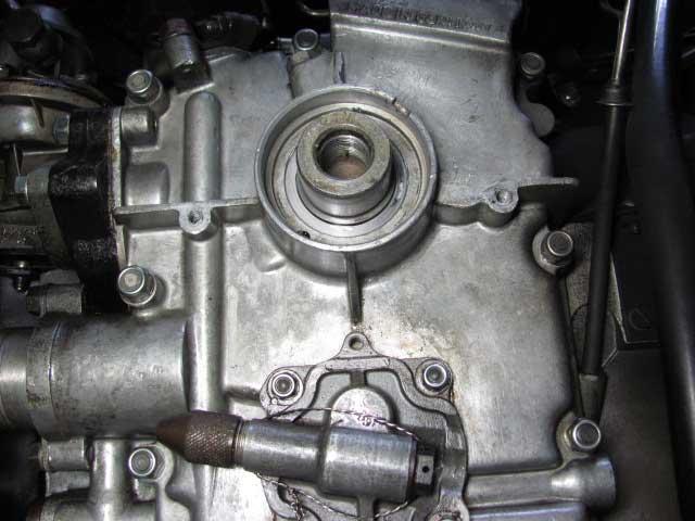 ポルシェ356aオイル漏れ修理