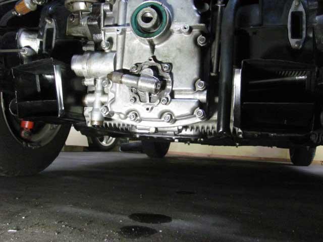 ポルシェ356オイル漏れ修理