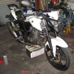 symオートバイ整備修理