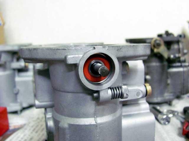 WEBER 45 DCOE 9 オーバーホール