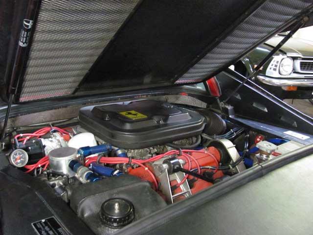 フェラーリ308weberキャブレター調整