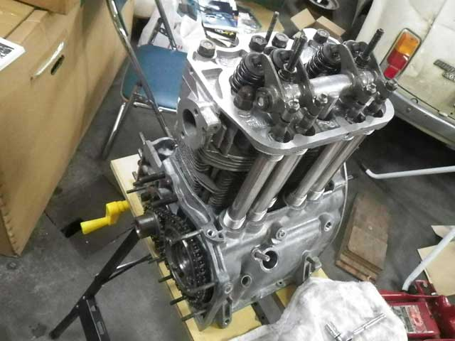 フィアット500エンジンオーバーホール